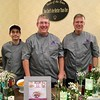 Winners of the Chairman's Choice Award and appetizer, Two Chefs are Better Than One