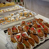 Freshly made Greek pastries are made for the Greek Festival in Lowell. SUN/Caley McGuane