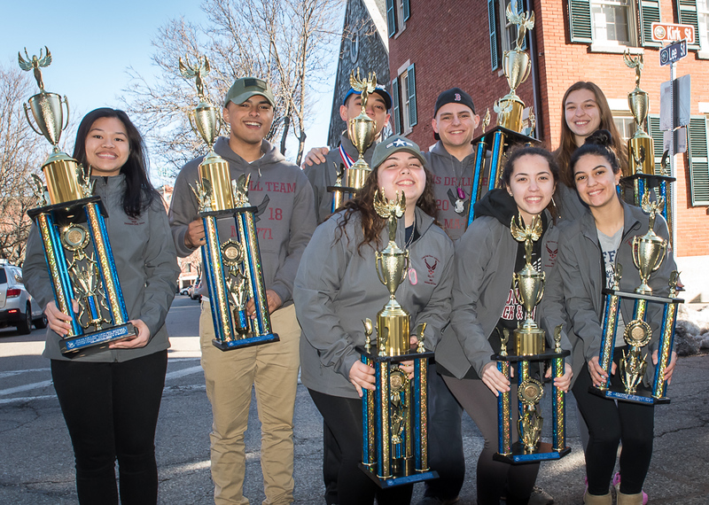 Lowell High School JROTC National Winners