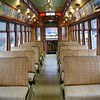 inside trolley - Lowell, MA