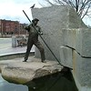 """The Worker"" monument - Lowell, MA"