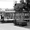Trolley in BW - Lowell, MA
