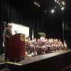 Middlesex Community College President James Mabry addressed the graduates on June 2. SUN/Rick Sobey