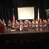 It was a packed house for graduation at the Merrimack Repertory Theatre in Lowell. SUN/Rick Sobey