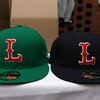 The Lowell Spinners held an unveiling their new logo during a ceremony in the Clark Auditorium at Lowell General Hospital on Wednesday morning February 1, 2017. The hats have the new logo now. SUN/JOHN LOVE