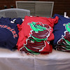 The Lowell Spinners held an unveiling their new logo during a ceremony in the Clark Auditorium at Lowell General Hospital on Wednesday morning February 1, 2017. Some of the new t-shirts they will be selling with the new logo. SUN/JOHN LOVE