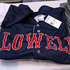The Lowell Spinners held an unveiling their new logo during a ceremony in the Clark Auditorium at Lowell General Hospital on Wednesday morning February 1, 2017. One of the new t-shirts that they will now be selling with the new logo. SUN/JOHN LOVE