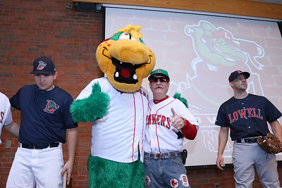 Lowell Spinners new logo unveiling
