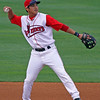 James Kang of the Lowell Spinners, August 21, 2010. Kelly O'Connor, sittingstill.smugmug.com
