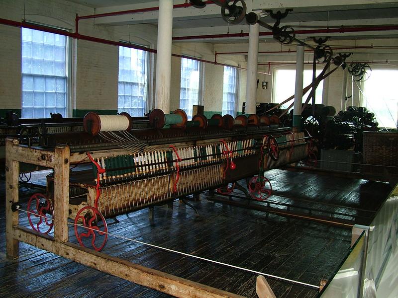Boott Cotton Mills ~ Loom Room