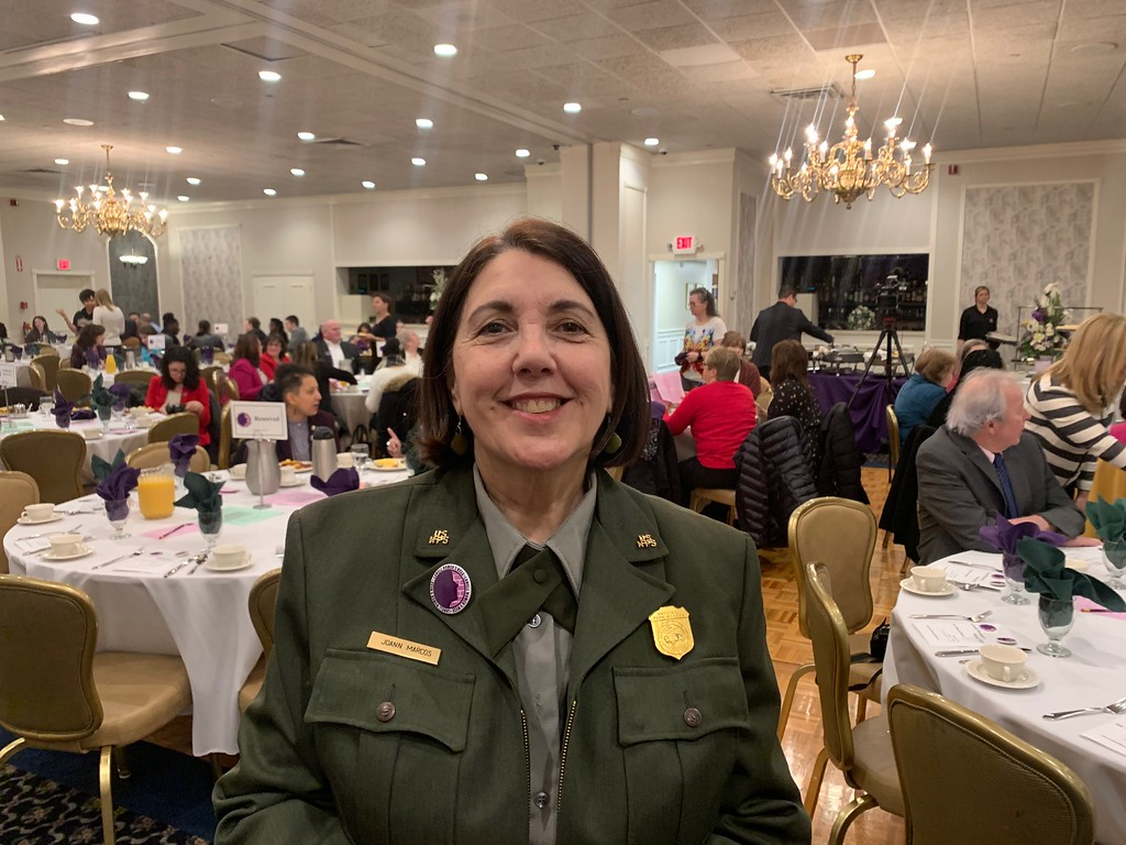 . JoAnn Marcos of Lowell and the Lowell National Historical Park