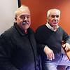Joe Santos of Dracut, and Cavaleiro's co-owner Dominic Cavaleiro of Tewksbury