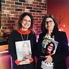 Alma Lusa's Paula Santana and Editor Alexandra Farela, both of New Jersey