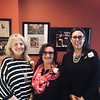 """Ladies who """"Make A Difference"""" featured in Alma Lusa magazine, from left, Liliana De Sousa of Lynn, Elisia Saab of Lowell and Dr. Helena Santos-Martins of Newton"""