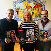 From left, Joao Caxintta of Boston, Liliana De Sousa of Lynn, who is also featured in Alma Lusa, and Jose Rodrigues of Boston