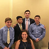 The beautiful Behrakis grandchildren, Margo Liakos of Nashua, front, with, from left, Christian Yianopoulos of Andover, Dean Liakos of Nashua, and George and Demetri Behrakis of Sudbury