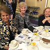 From left, Connie Panas of Dracut, Cathy Chareas of Tyngsboro and Bessie Kourkoulakos of Lowell