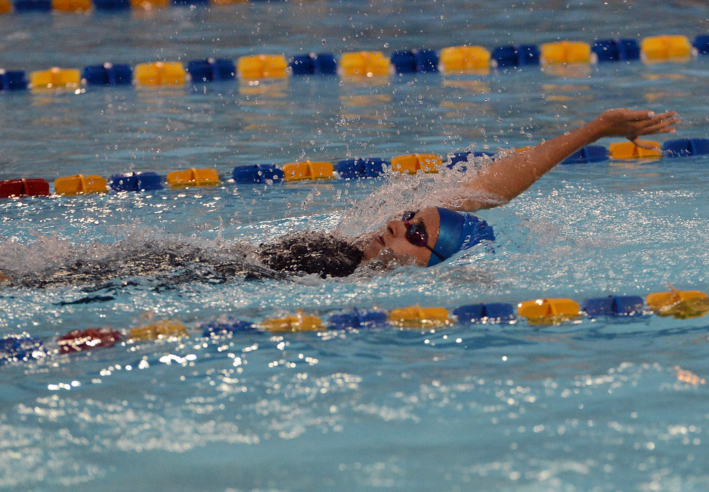 . Madison Peifer swims for CR South during scholastic season.