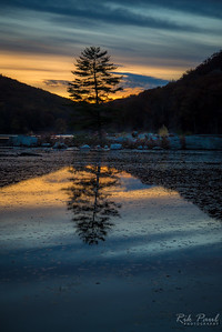 Harriman sunset