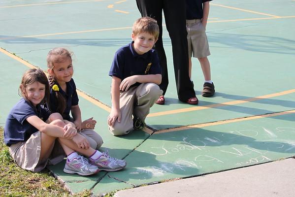Kindergarten and 1st Grade Buddies