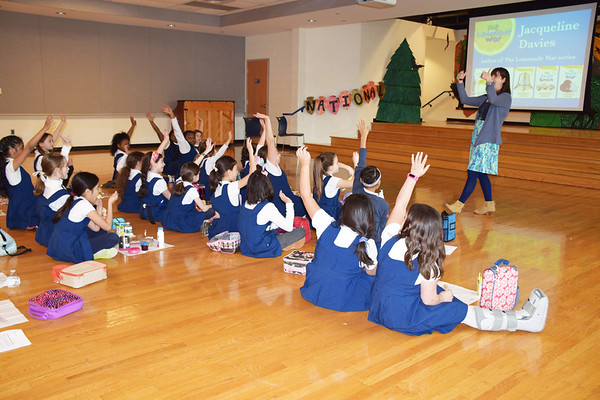 Author Jacqueline Davies Visits The Baldwin School
