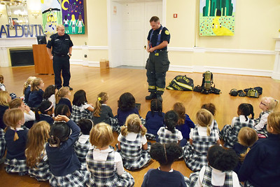 Bryn Mawr Fire Company Visits the ECC