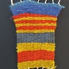 Third grade students completed weavings inspired by their landscape collage.