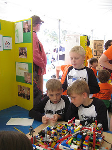 Jr FLL competition at Legoland on Feb 10, 2013