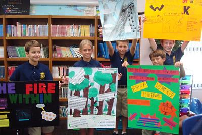 5th Grade Movie Poster Book Report - Admiral Farragut Academy