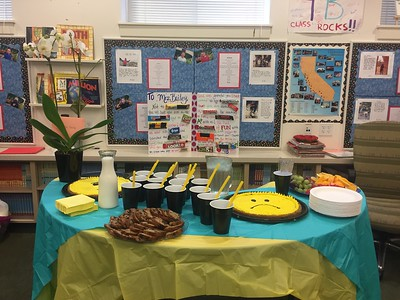 Farewell party for Mrs. Bailey