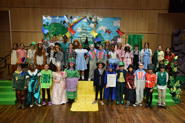 Grade 5 Play: Wizard of Oz