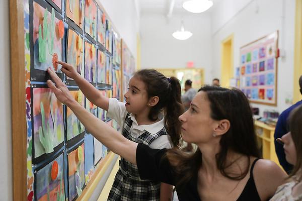 Kindergarten Art Show 2018