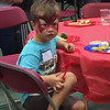 More food and face painting!