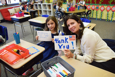 Lower School Veterans Day Service Project
