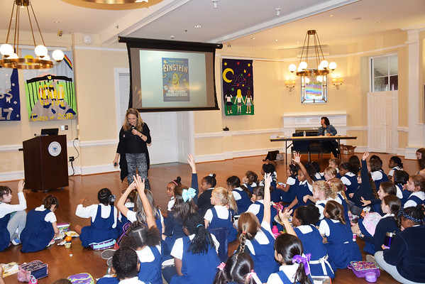 Author Visit: Meeting Janet Tashjian