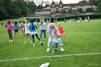 Team Building Exercises with the Lower School