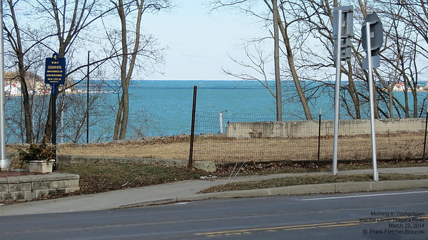 Lower Niagara River at Youngstown March 23 2014