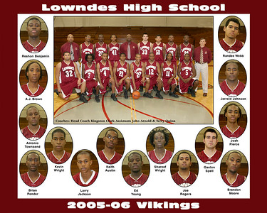 2005-06 Lowndes High Boys Basketball