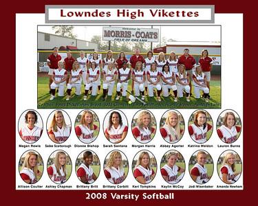 2008 Lowndes High Varsity