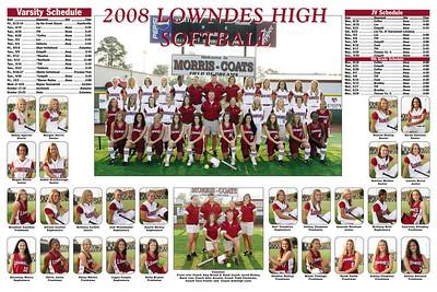 2008 Lowndes Softball