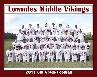 2011 LMS 6th Grade Football