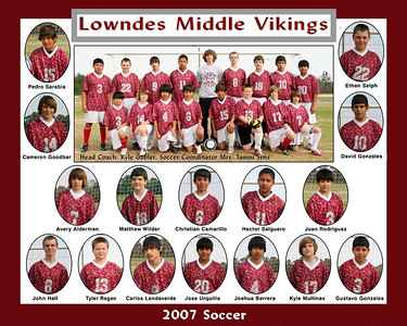 2007 LMS  Viking Soccer Team