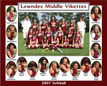 2007 LMS Softball