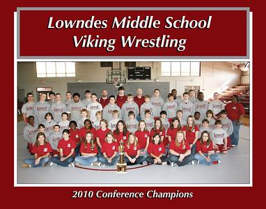 2010 LMS Wrestling Team