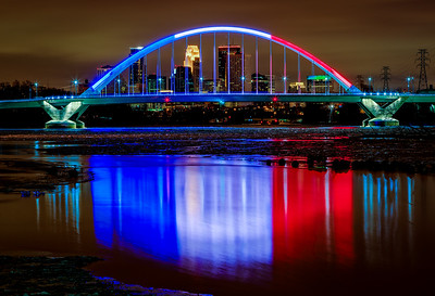 New Year's Day at the Lowry Bridge