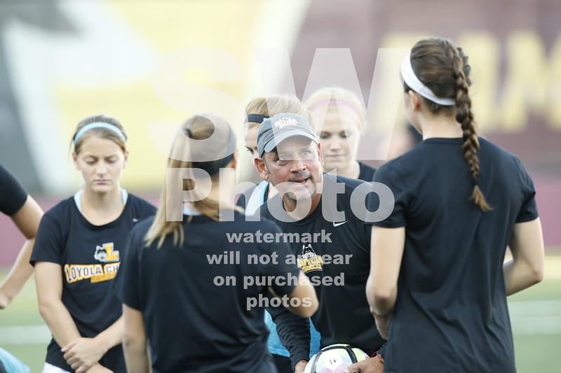 Loyola Women's Soccer vs. Wisconsin