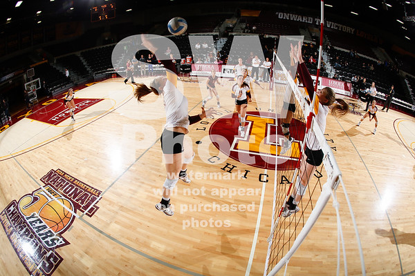 10.12.2012 - Loyola Volleyball vs. UIC