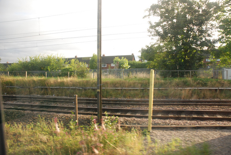 Just approaching Haltom jct <br /> <br /> With the WCML Liverpool branch coming in in the back
