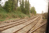 Another view of Lowton Jct with Parkside Jct side of curve branching off to the left
