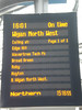 Same thing as previous picture but this time at the other end of the <br /> <br /> route taken at Liverpool Lime St station